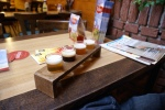 Tasting paddle at Texels